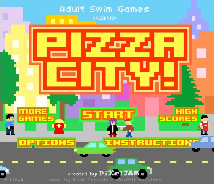 Pizza Dude Special Delivery GAME DEMO - download