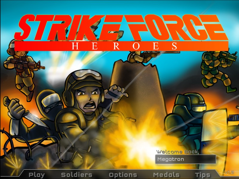 Strike force heroes hacked cheats hacked free games