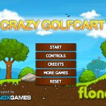 Crazy Golf Cart Screenshot