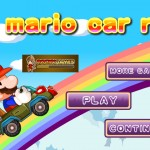 Mario Car Run Screenshot