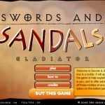 Swords and Sandals 1: Gladiator Screenshot