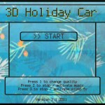 3D Holiday Car Screenshot