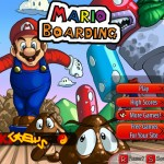 Mario Boarding Screenshot