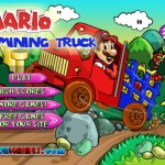 Mario Mining Truck Screenshot