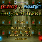 FireBoy and WaterGirl: In The Forest Temple Screenshot