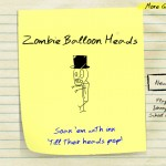 Zombie Balloon Heads Screenshot