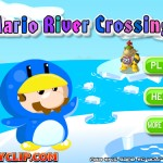 Mario River Crossing Screenshot