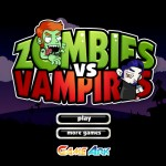 Zombies vs Vampires Screenshot